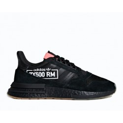 "Adidas ZX 500 RM ""Core Black/Flesh Red"""