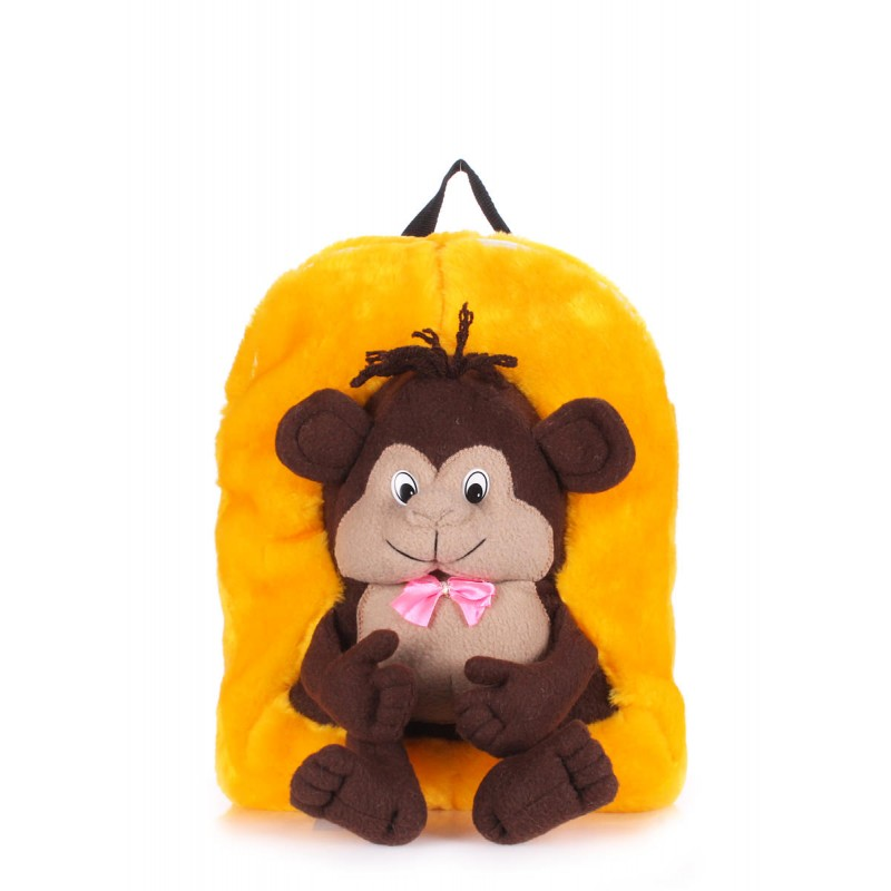 Детский рюкзак PoolParty Backpack Kiddy Monkey Sunny