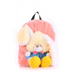 Детский рюкзак PoolParty Backpack Kiddy Rabbit Rose