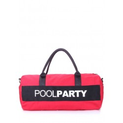 PoolParty Gymbag Red