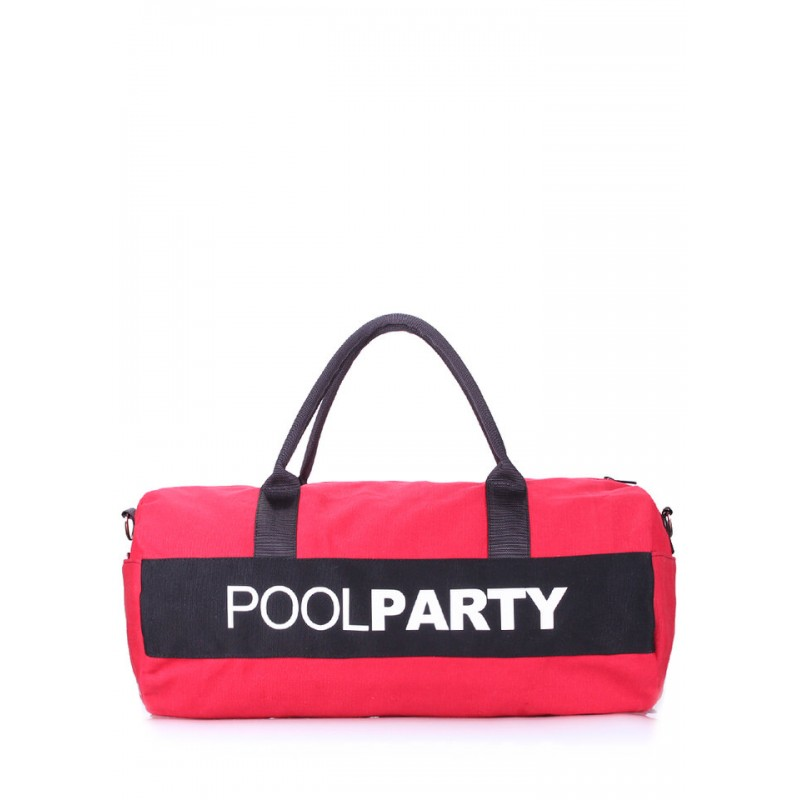 PoolParty Gymbag Red спортивная сумка
