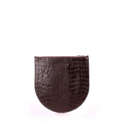 Косметичка Poolparty Croco Brown