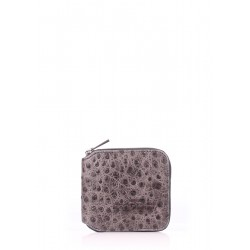Кошелек Poolparty Mini Wallet Struzzo Grey