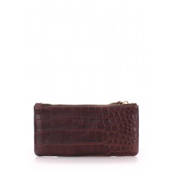 Кошелек Poolparty Moneykeeper Caiman Brown