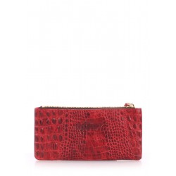 Кошелек Poolparty Moneykeeper Croco Red