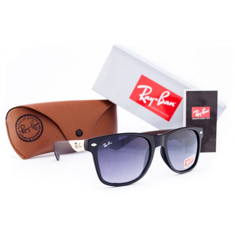 Очки Ray Ban Wayfarer Grey Wood 6914