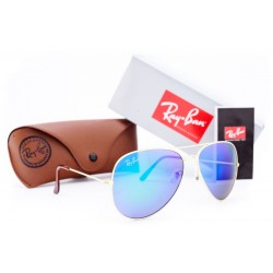 Ray Ban Aviator Green Purple 7031