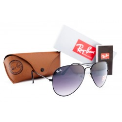 Ray Ban Aviator Brown Black 7478