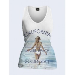 Майка женская Vilno California golden state