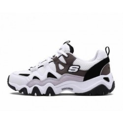 "Skechers D'Lites 2 ""White/Charcoal/Black"""
