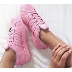 Adidas Superstar Pink 3
