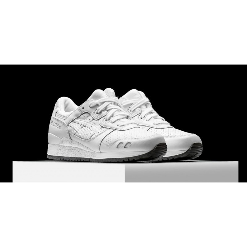 "Asics Gel Lyte III ""Grand Leather White"" женские кроссовки"