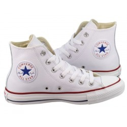 Converse All Star White High