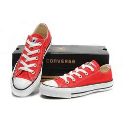 Converse Red White