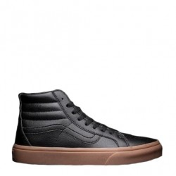 "Vans Gum Leather Sk8-Hi Classic ""Black"""