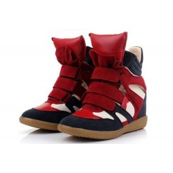 Isabel Marant Sneakers Red Blue