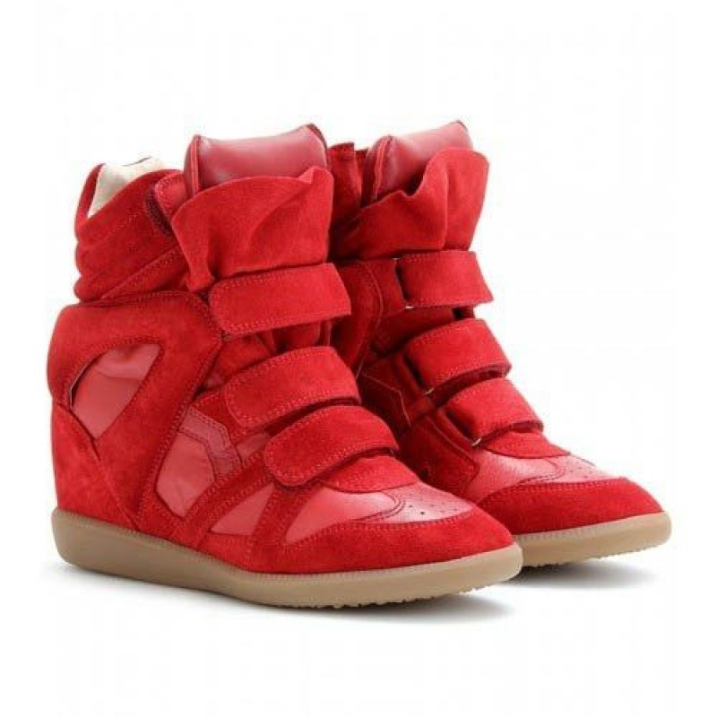 Isabel Marant Sneakers Red женские кроссовки