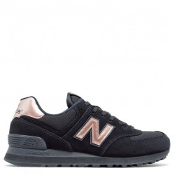 "New Balance 574 ""Black With Steel"""