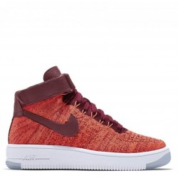 "Nike Air Force 1 Ultra Flyknit ""Deep Red"""