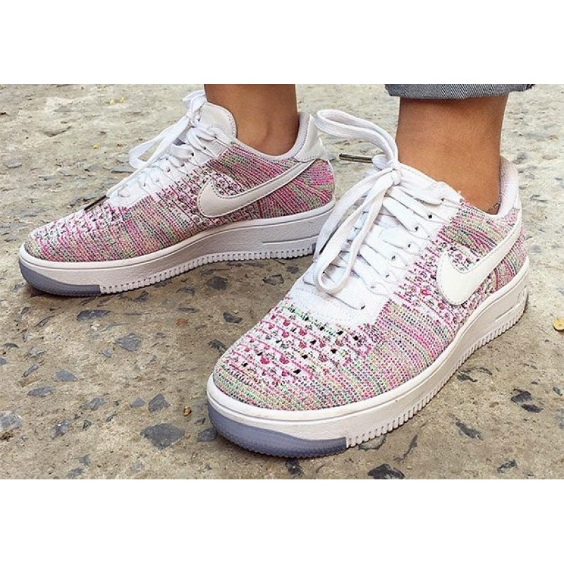 Nike Air Force 1 Ultra Flyknit Low Orchid 1 женские кроссовки