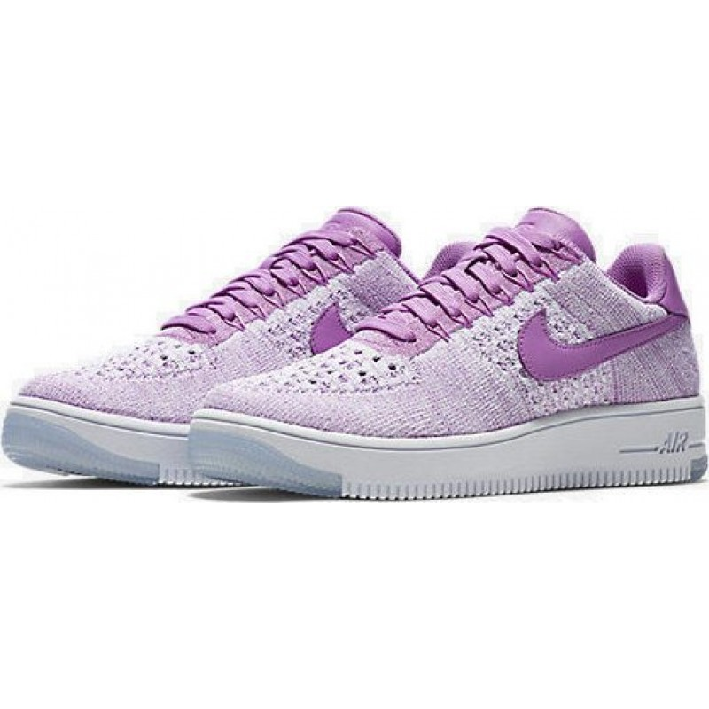 """Nike Air Force 1 Ultra Flyknit Low """"Royal Orchid""""  женские кроссовки"""