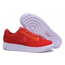 Nike Air Force 1 Ultra Flyknit Low Red 3