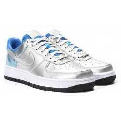 Nike Air Force Low Silver Blue