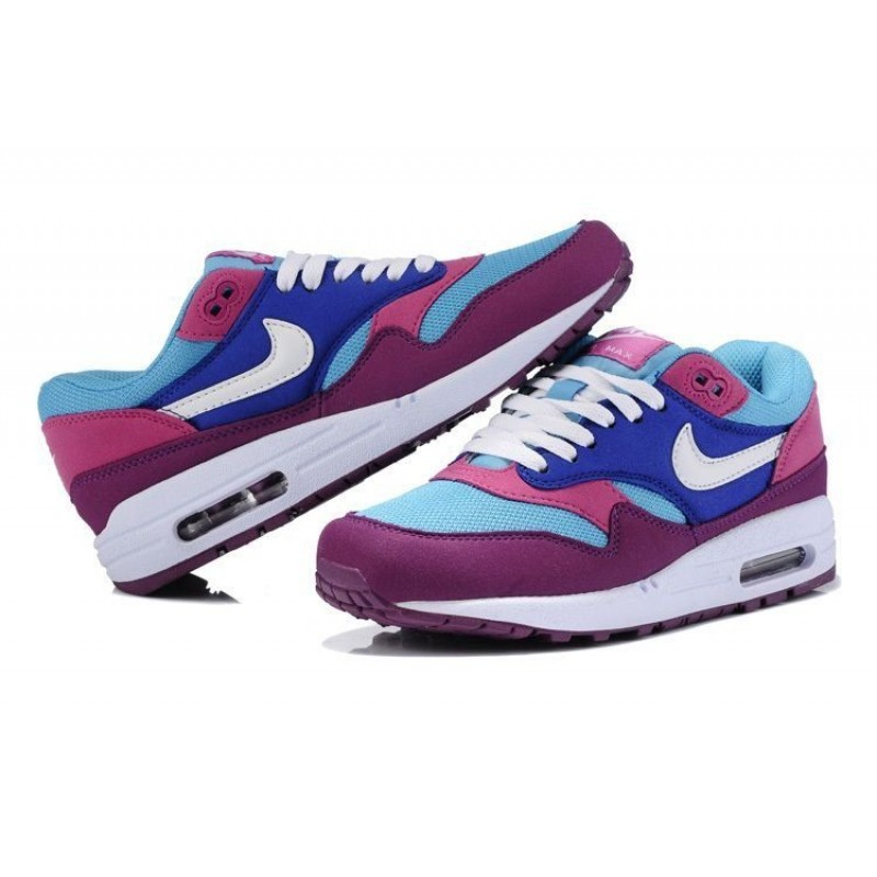 "Nike Air Max 87 ""Blue/Pink/White"" женские кроссовки"