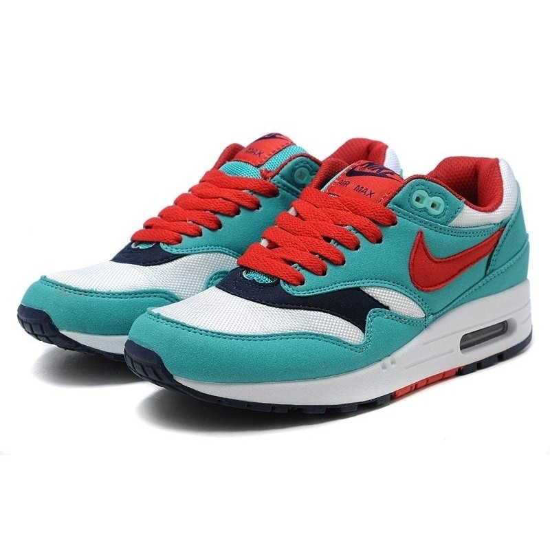 Nike Air Max 87 Red Blue женские кроссовки