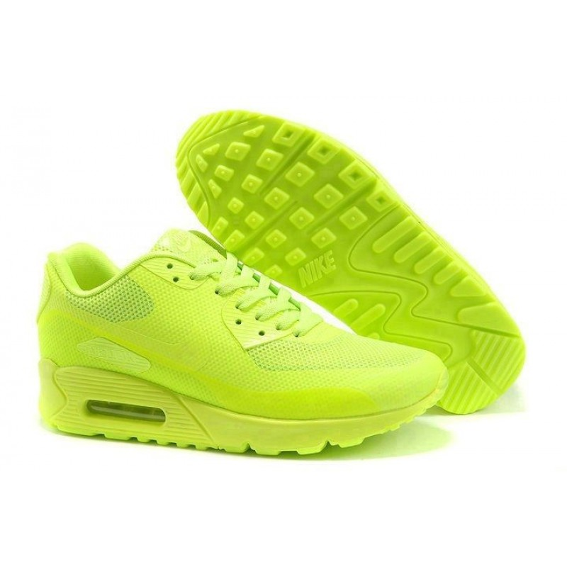 Nike Air Max 90 Hyperfuse Green женские кроссовки