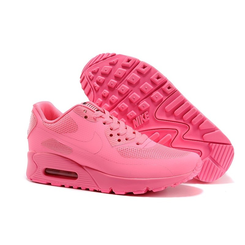 Nike Air Max 90 Hyperfuse USA Pink женские кроссовки