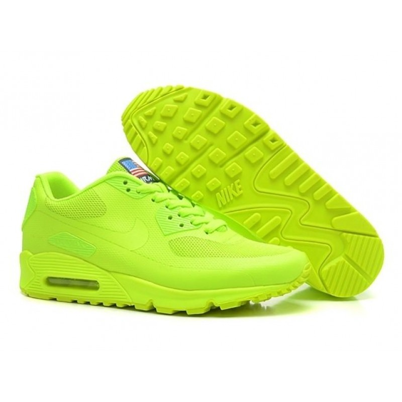 Nike Air Max 90 Hyperfuse USA Green женские кроссовки