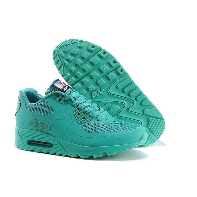 Nike Air Max 90 Hyperfuse USA Mint женские кроссовки