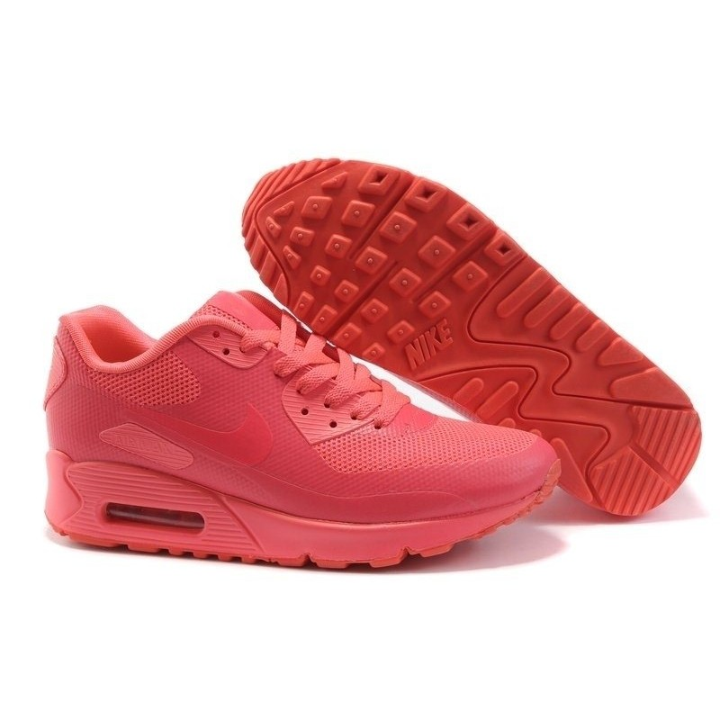 Nike Air Max 90 Hyperfuse Coral женские кроссовки