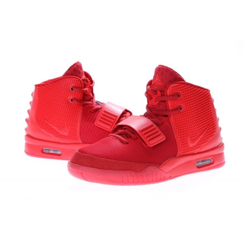 Nike Air Yeezy 2 Red женские кроссовки