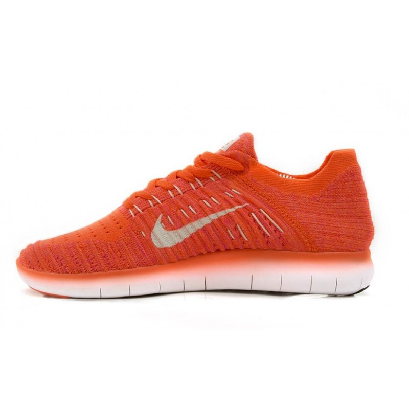 "Nike Free RN Flyknit ""Coral"" женские кроссовки"