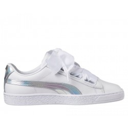 "Puma Basket Heart ""White holographic"""