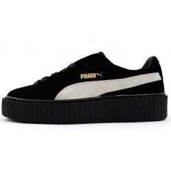 "Puma Suede Creeper x Rihanna ""Black/White"""