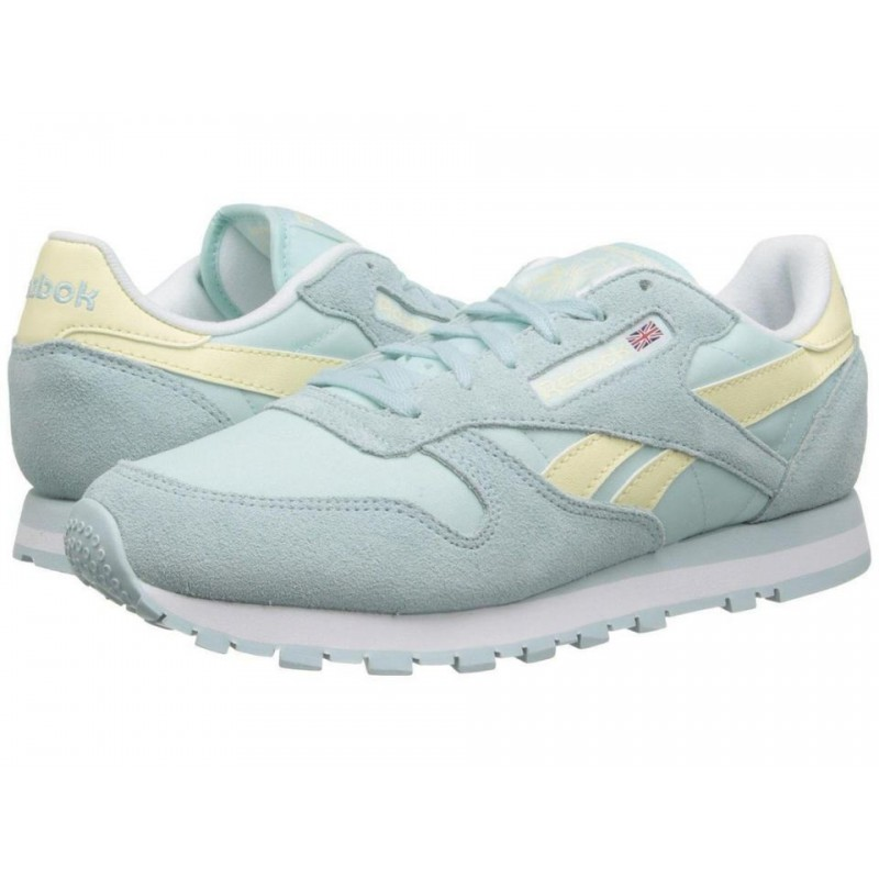 Reebok Classic Leather Seasonal Blue женские кроссовки