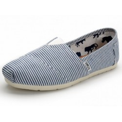 Toms Classic White Blue