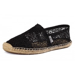 Toms Lace Black