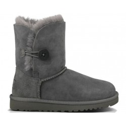 UGG Baby Bailey Button Grey