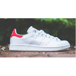 Adidas Stan Smith White Red