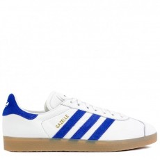 "Adidas Gazelle ""White/Blue"""