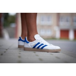 Adidas Gazelle White/Blue