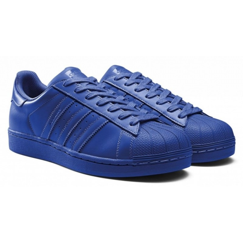 "Adidas Superstar Supercolor ""Bold Blue""  мужские кроссовки"