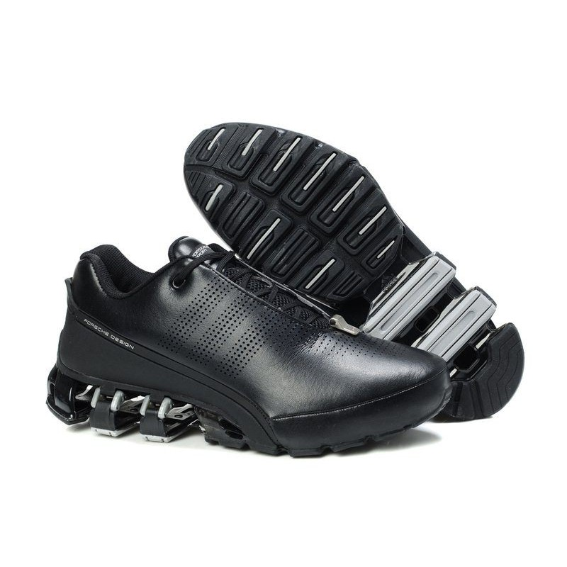 Adidas Porsche Design P5000 Leather Black мужские кроссовки