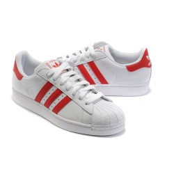 Adidas Superstar White-Red