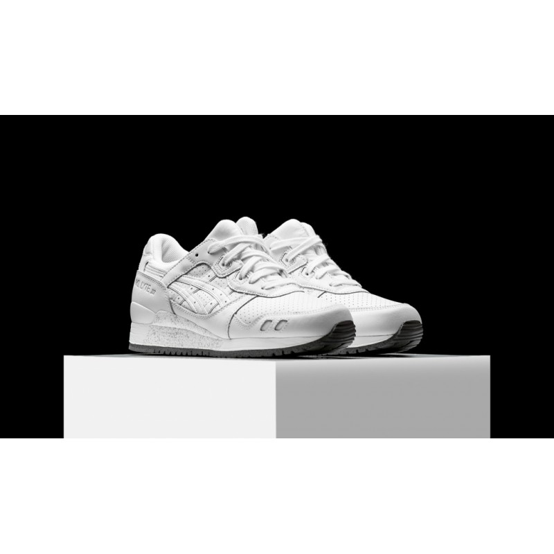 "Asics Gel Lyte III ""Grand Leather White"" мужские кроссовки"
