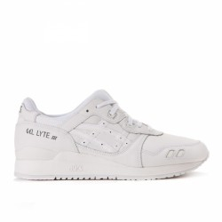 "Asics Gel Lyte III Leather ""All White"""